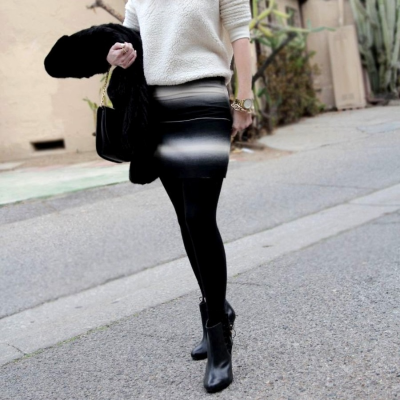 Minifalda efecto optico Best for less