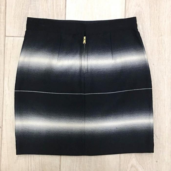 Minifalda efecto optico