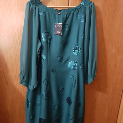 Vestido verde Niza