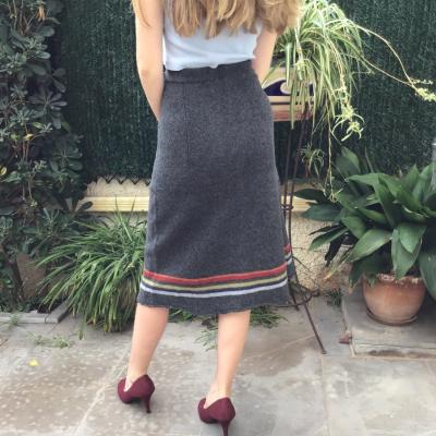 Falda de lana Best for less