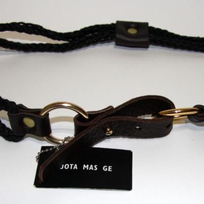 Cinturón cuerda negro Best for less