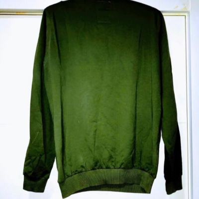 SUDADERA VERDE OSCURO Best for less