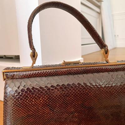 Bolso Vintage marrón