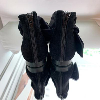 Sandalia tiras negro