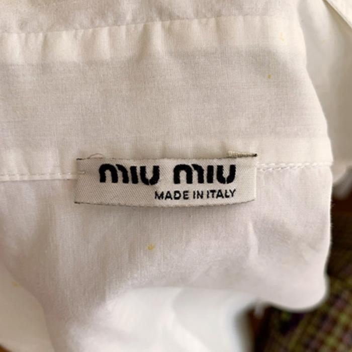 Camisa blanca algodón