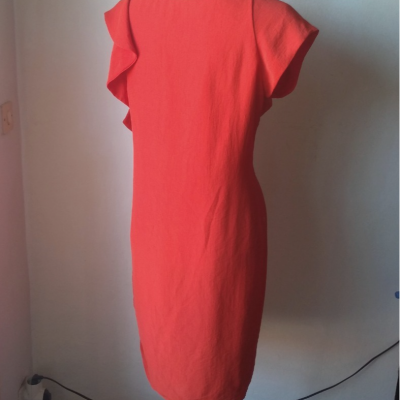 Vestido rojo Zara Best for less