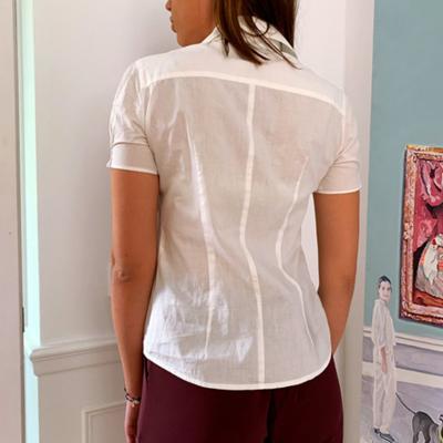 Camisa algodón blanca Best for less