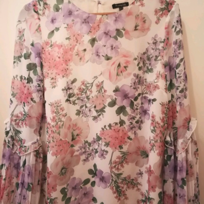 Blusa flores Massimo Dutti Best for less