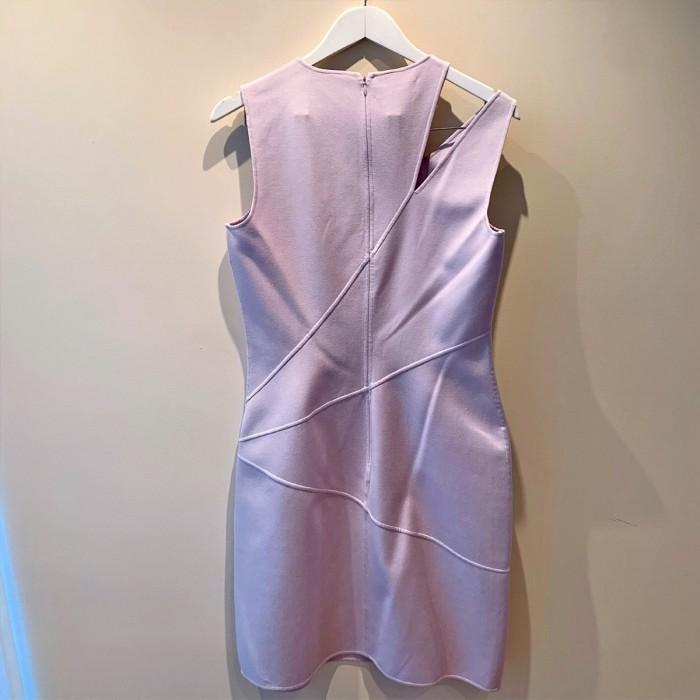 Vestido malva Michael Kors alta costura