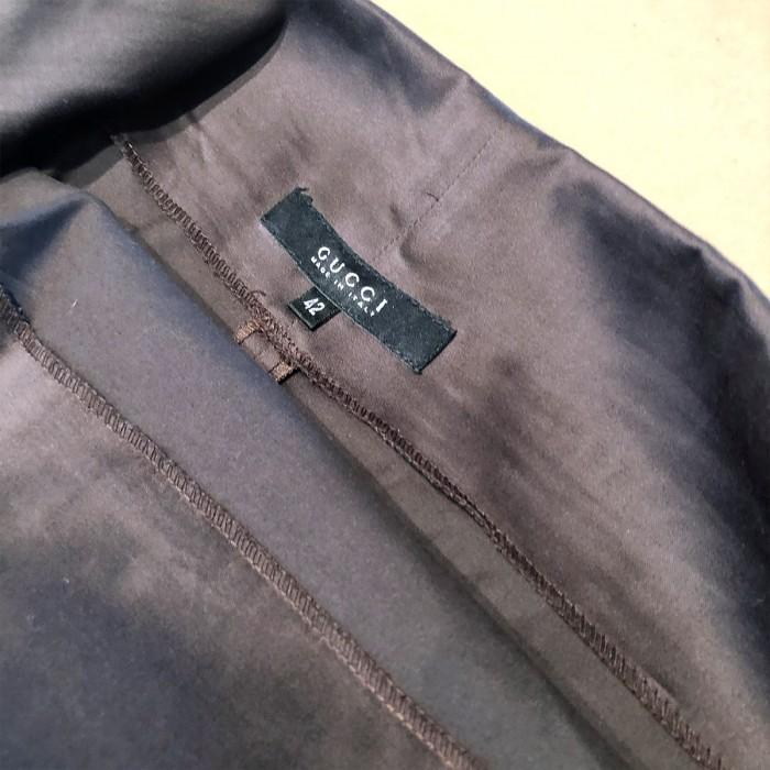 Falda tubo marrón