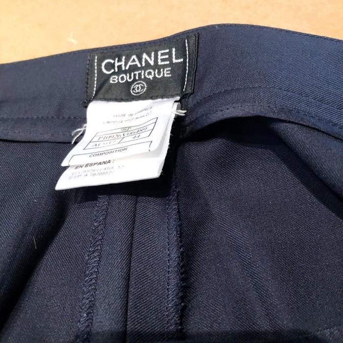 Pantalón recto Chanel