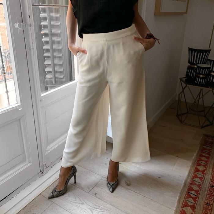 Pantalón ancho de vestir