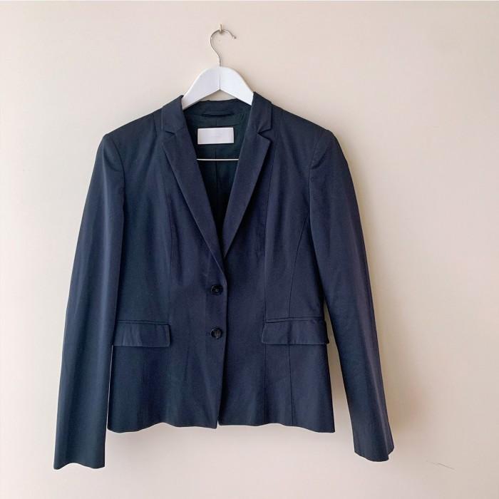 Traje de chaqueta algodón azul