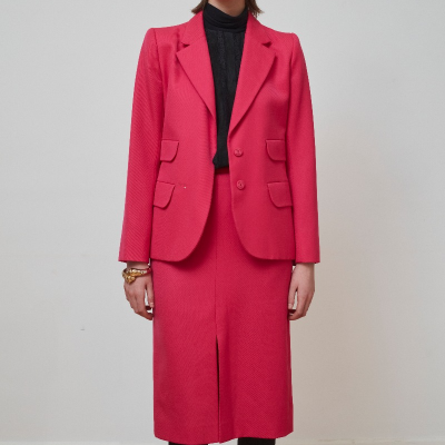 Traje Fucsia Best for less