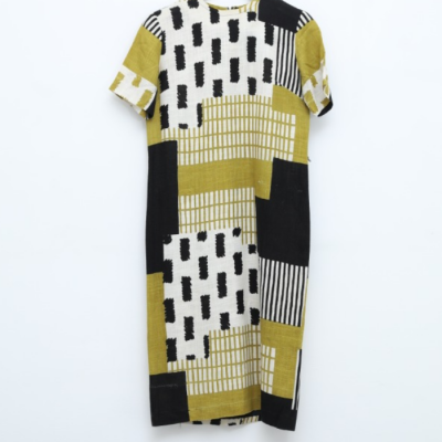 Vestido geométrico Best for less