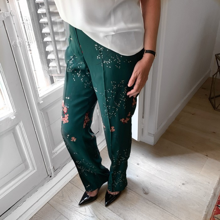 Pantalón pijamero verde