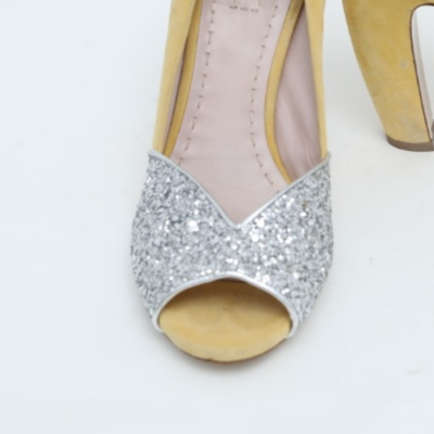 Zapatos ante con glitter Best for less