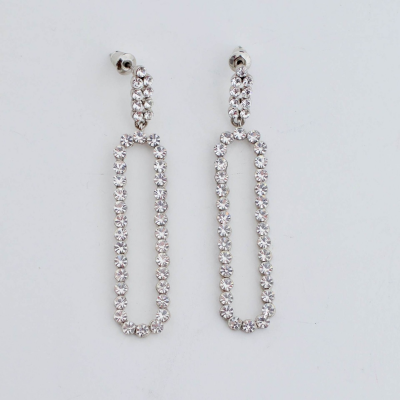 Pendientes ovalados Best for less