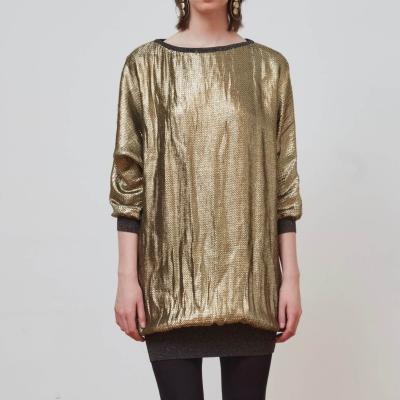 Vestido dorado Best for less
