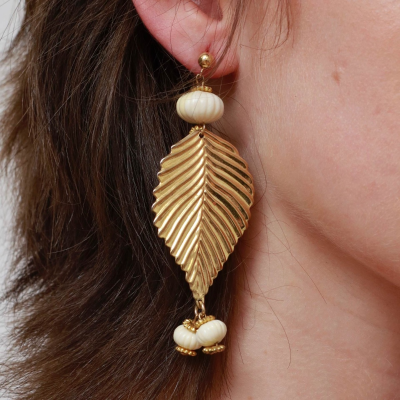 Pendientes hoja Best for less