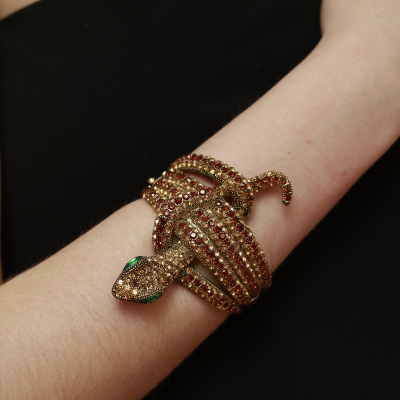 Brazalete serpiente dorada Best for less