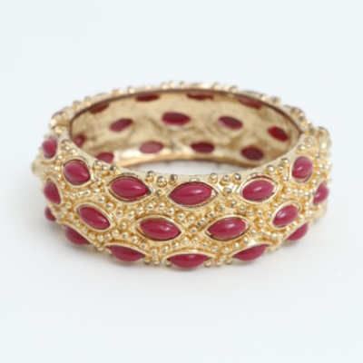 Brazalete piedras burdeos Best for less
