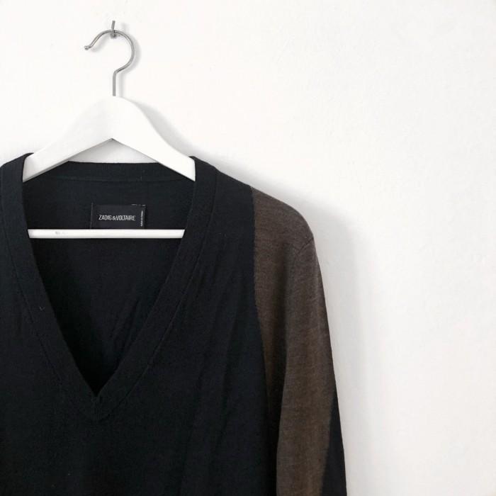 Jersey pico manga larga
