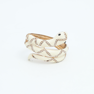 Brazalete serpiente blanca Best for less