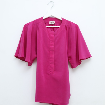 Camisa Mangas Fluidas Best for less