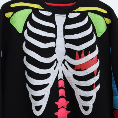 Sudadera Esqueleto Best for less