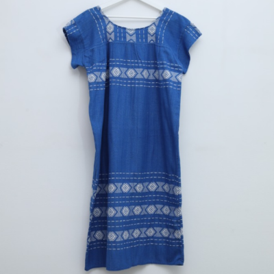 Vestido Lino Bordados Best for less