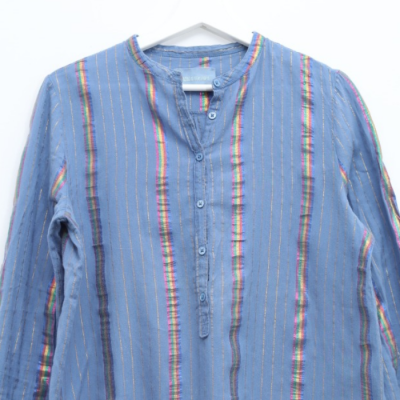 Camisa Rayas Multicolor Best for less