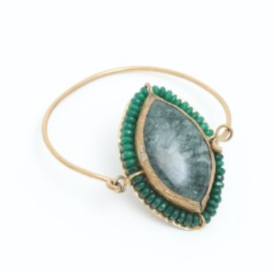 Pulsera Piedra Verde Best for less
