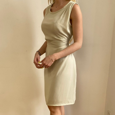 Vestido Lazo Cintura