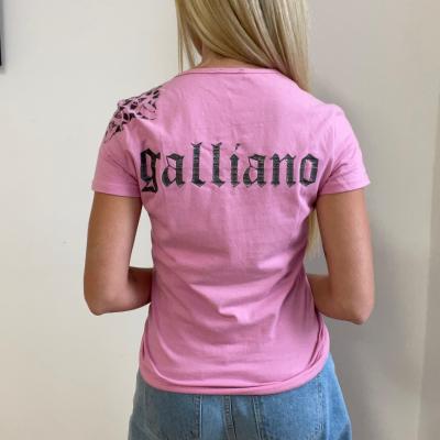 Camiseta Rosa Calavera Best for less