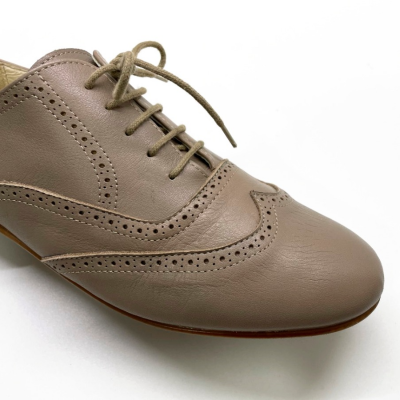Zapato blucher taupe Best for less
