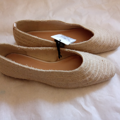 Zapatos fibra natural Best for less