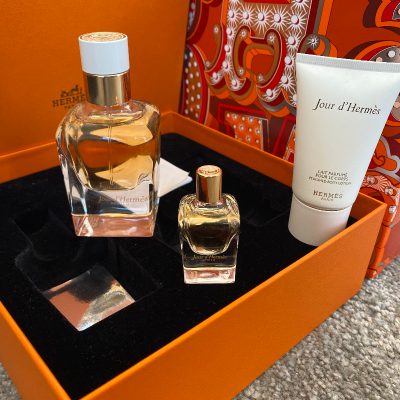 Caja perfume Hermés Best for less