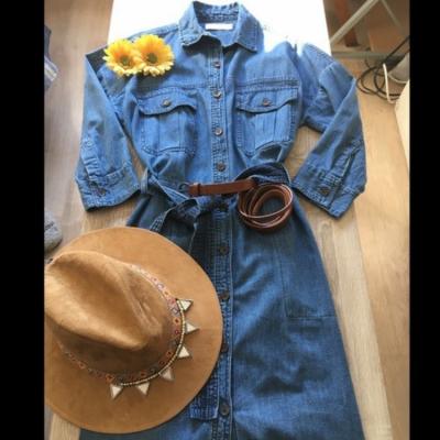 Vestido vaquero Promod Best for less