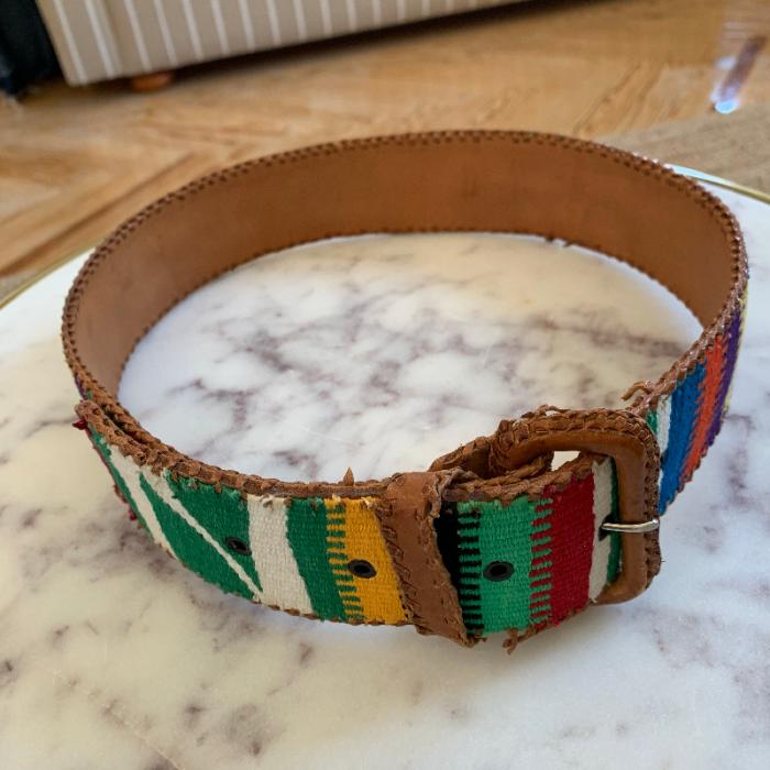 Cinturón multicolor