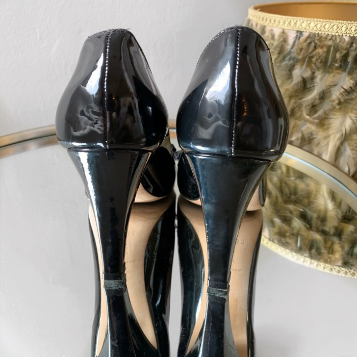 Zapato salón charol