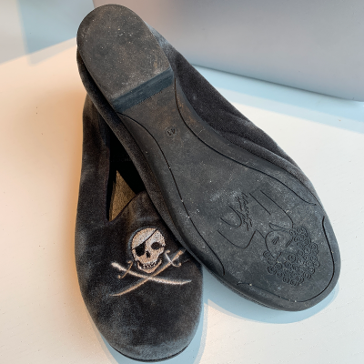 Mocasín velvet calavera Best for less