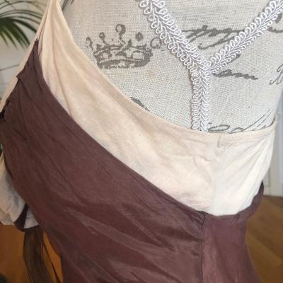 Vestido combinado