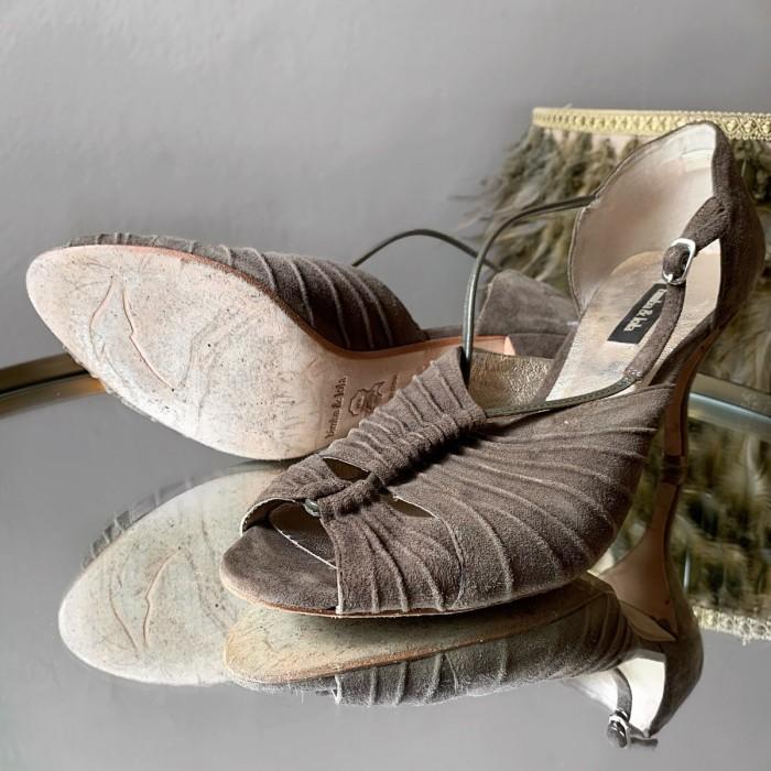 Sandalia ante tacón