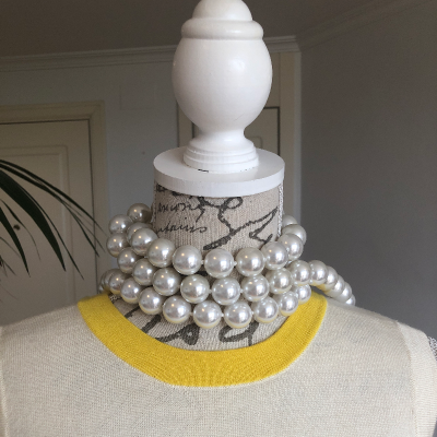 Collar perlas Best for less