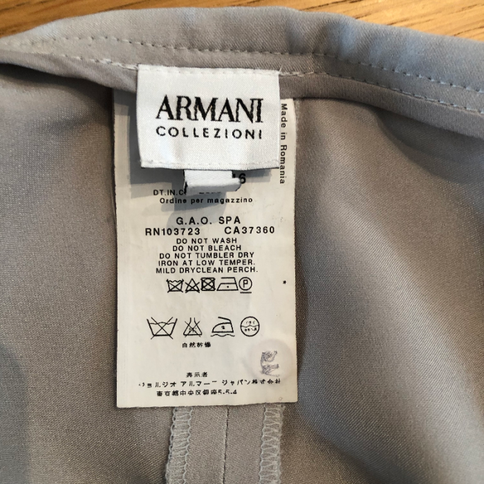 Total look Armani