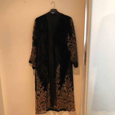 Kimono terciopelo Best for less