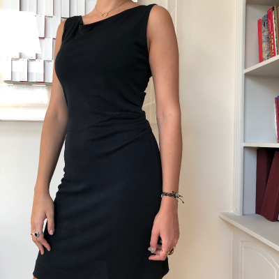 Vestido negro Best for less