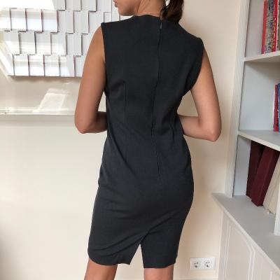 Vestido gris Best for less