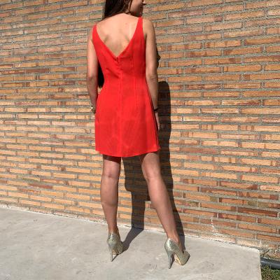 Vestido volantes